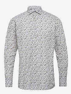 Flourishing shirt - soft - koszule casual - offwhite/brown