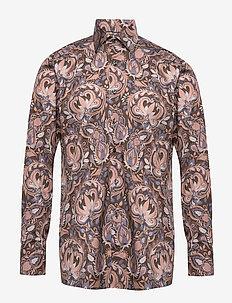 Bold Paisley Print Shirt - Contemporary fit - BLUE