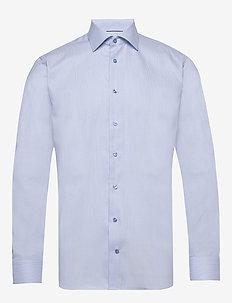 Woven checks shirt - basic skjortor - blue