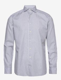 Twill shirt - biznesowa - navy