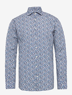 Poplin - business shirts - blue