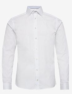 Twill shirt - basic shirts - white