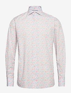 Flourishing shirt - Contemporary fit - casual shirts - white