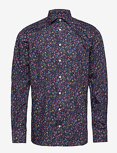 Valley of flowers shirt - BLUE