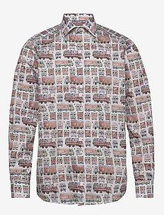 Eton trucks shirt - casual shirts - white