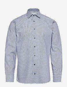 Slim fit Blue Lightweight Twill shirt - business-hemden - blue