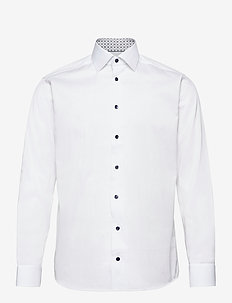Slim fit Cotton shirt - basic skjorter - white