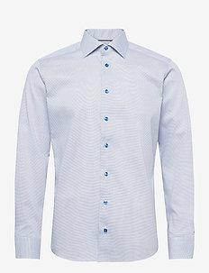 Slim fit Cotton shirt - business-hemden - blue