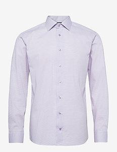 Slim fit Cotton shirt - businesskjorter - purple