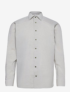 Contemporary fit twill shirt - business-paidat - green