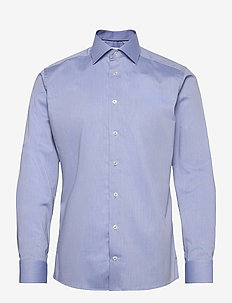 Slim fit Cotton shirt - businesskjorter - blue