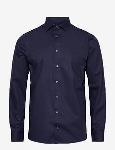 Slim fit Cotton shirt - business-paidat - blue