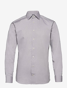 Slim fit Cotton shirt - businesskjorter - grey