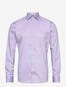Slim fit Cotton shirt - business skjorter - purple