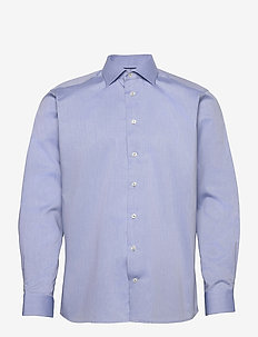 Contemporary fit Cotton shirt - basic skjorter - blue