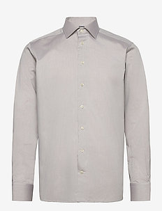 Contemporary fit Cotton shirt - basic skjorter - grey