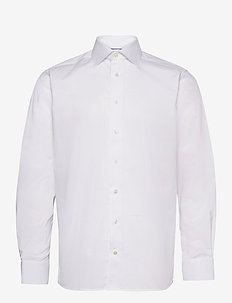 Contemporary fit Cotton shirt - basic skjorter - white