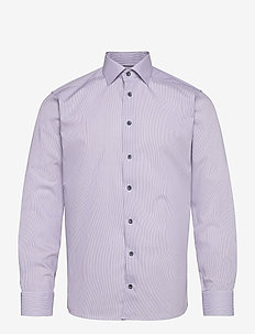 Slim fit Cotton shirt - businesskjorter - purple