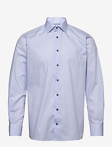 Contemporary fit Cotton shirt - businesskjorter - blue