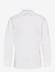 Slim Fit Cocktail print shirt - oxford-skjortor - yellow/orange