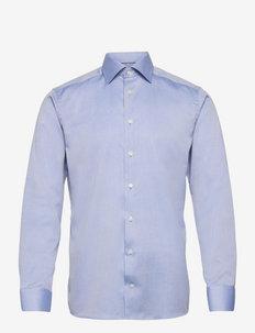Men's shirt: Business  Signature Twill - chemises de lin - light blue