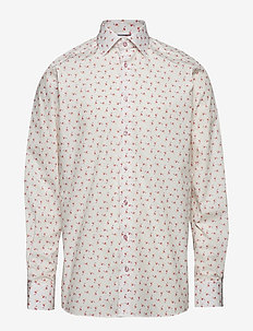 Ice Cream Flamingo Shirt - Contemporary fit - PINK/RED