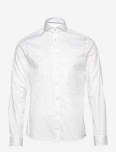 Cambridge-Collection-Super Slim fit - basic skjortor - white