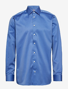 Cambridge-Collection-Contemporary fit - basic skjortor - blue