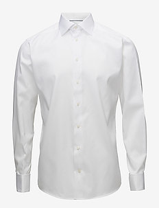 Signature Twill-Slim fit - basic skjortor - white
