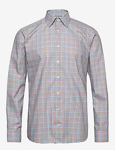 Gingham Check Poplin Shirt - koszule w kratkę - green