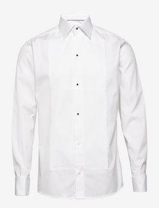 Savoy-Evening-Slim fit - peruspaitoja - white