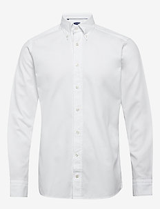 Royal oxford shirt - basic skjortor - white