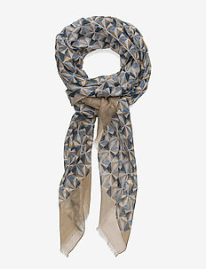 Scarf - OFFWHITE/BROWN