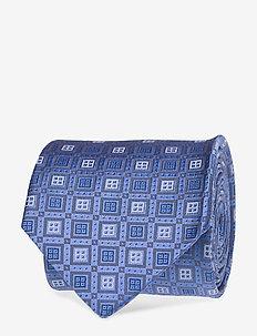 Geometric Tie - BLUE