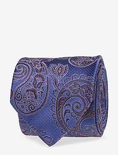 Paisley Silk Tie - PURPLE
