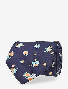 Floral tie - BLUE