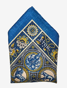 Artwork pocket square - BLUE
