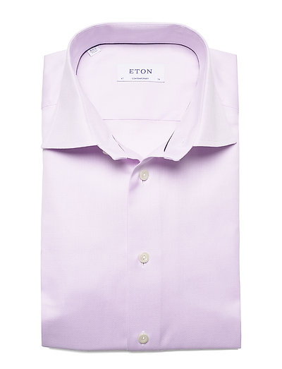 Eton Melange Micro Weave Shirt - Contemporary Fit- Hemden