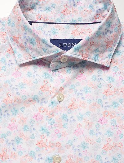 Eton Flourishing Shirt - Contemporary Fit- Koszule White