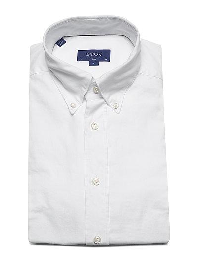 Eton Royal Oxford Shirt- Paidat White