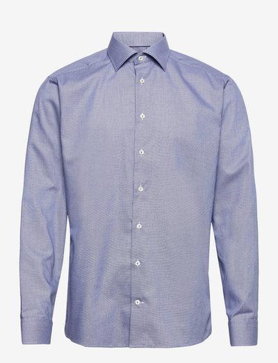 Men's shirt: Business  Twill - chemises de lin - dark blue