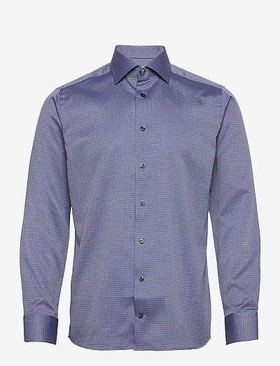 Slim Fit Arrow weave shirt - oxford-paidat - blue