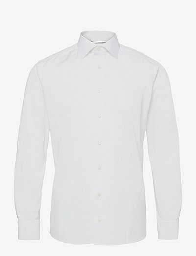 Poplin-Slim fit - oxford shirts - white