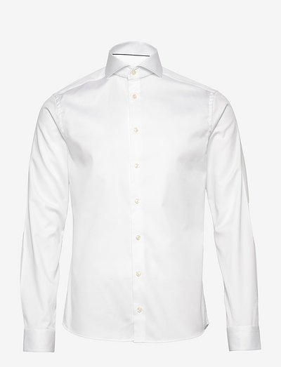 Cambridge-Collection-Super Slim fit - chemises de lin - white