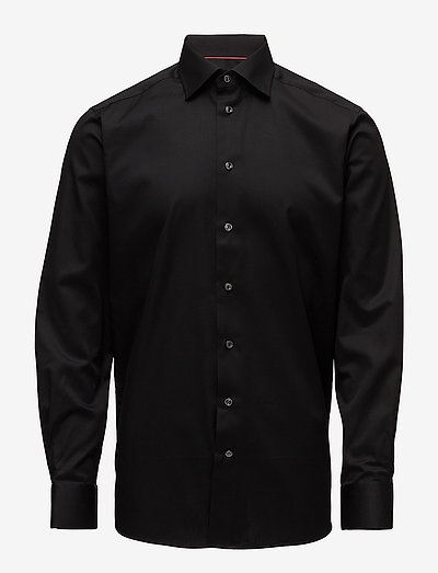 Cambridge-Collection-Contemporary fit - oxford shirts - black