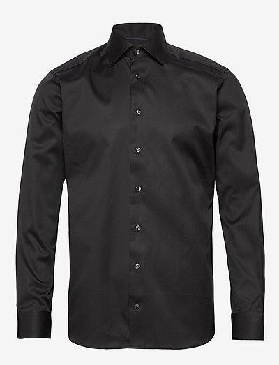 Cambridge-Collection-Slim fit - oxford-paidat - black