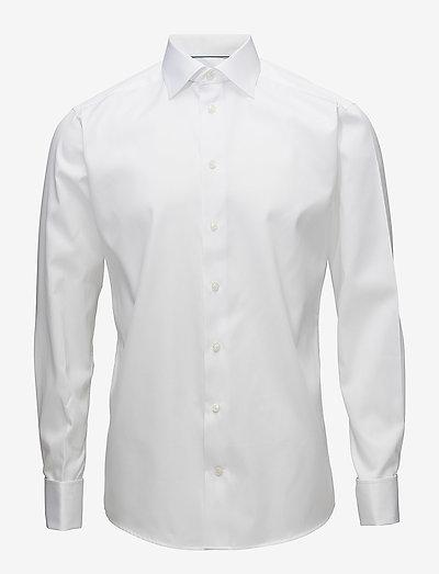Signature Twill-Slim fit - oxford-paidat - white