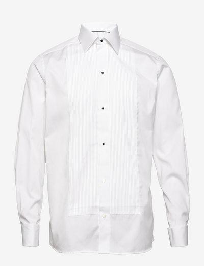 Savoy-Evening-Contemporary fit - chemises de lin - white