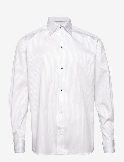 Palladium-Evening-Contemporary fit - chemises de lin - white
