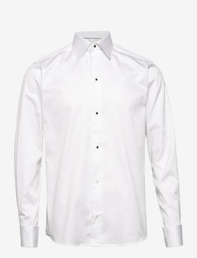 Palladium-Evening-Slim fit - chemises de lin - white